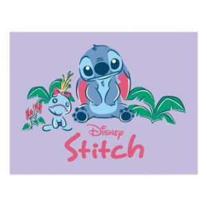 Lilo & Stich | Stitch & Scrump Postcard