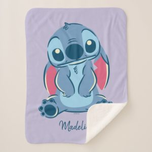 Lilo & Stich   Stitch & Scrump Sherpa Blanket