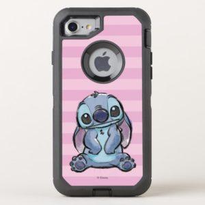 Lilo & Stich | Stitch Sketch OtterBox iPhone Case