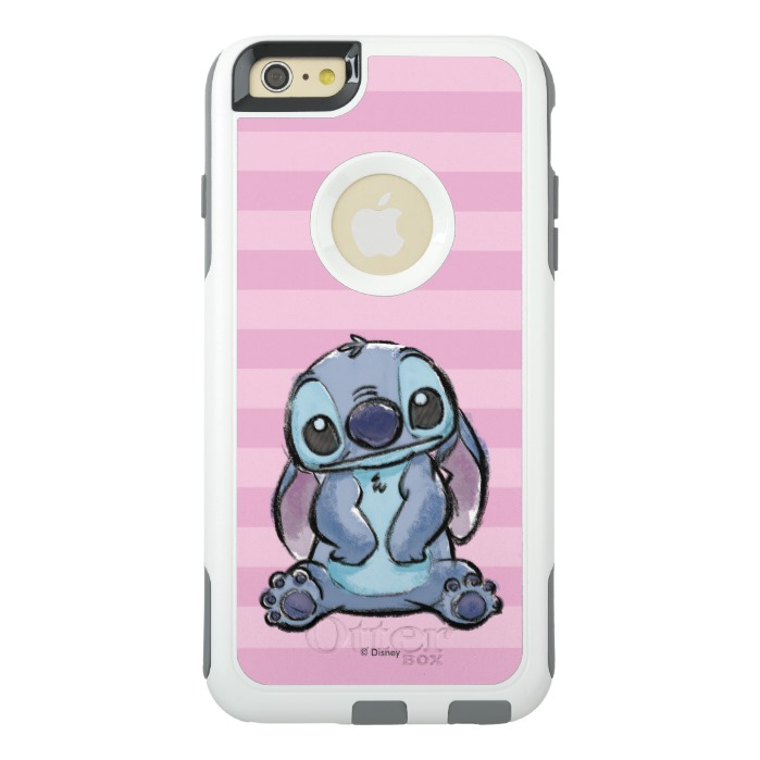 e2fa30dd8ae Lilo & Stich | Stitch Sketch OtterBox iPhone Case - Custom Fan Art