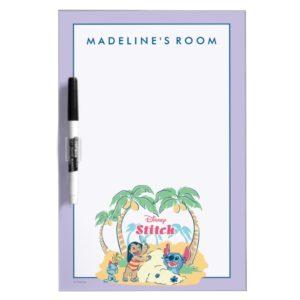 Lilo & Stitch   Come visit the islands! Dry-Erase Board