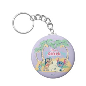 Lilo & Stitch   Come visit the islands! Keychain