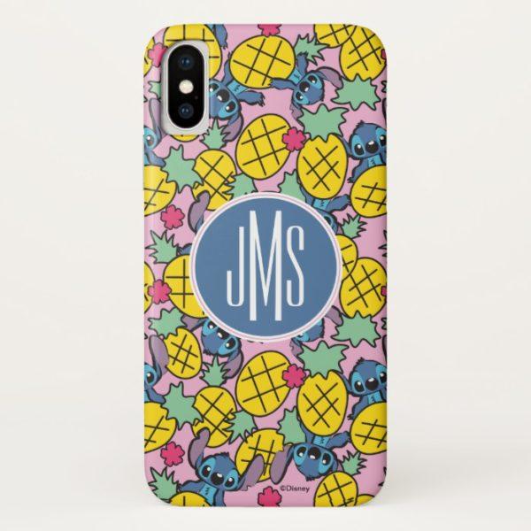 Lilo & Stitch   Monogram Pineapple Pattern Case-Mate iPhone Case