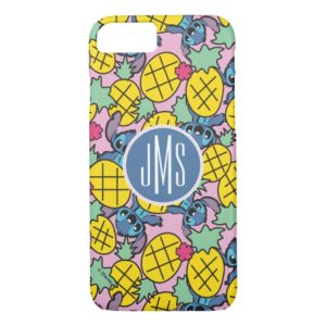 Lilo & Stitch | Monogram Pineapple Pattern Case-Mate iPhone Case