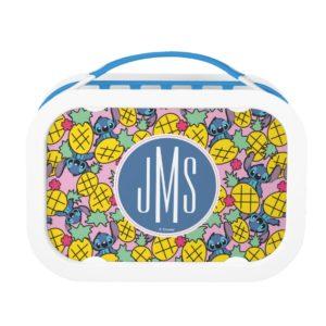 Lilo & Stitch   Monogram Pineapple Pattern Lunch Box