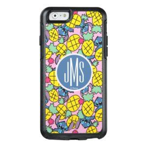 Lilo & Stitch   Monogram Pineapple Pattern OtterBox iPhone Case