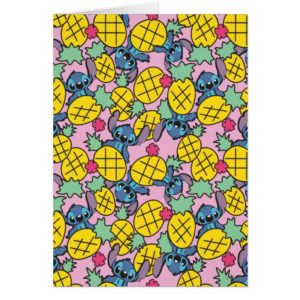 Lilo & Stitch | Pineapple Pattern