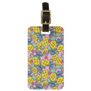 Lilo & Stitch | Pineapple Pattern Bag Tag