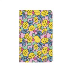 Lilo & Stitch   Pineapple Pattern Journal