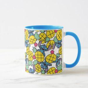 Lilo & Stitch | Pineapple Pattern Mug