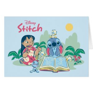 Lilo & Stitch | Reading the Ugly Duckling