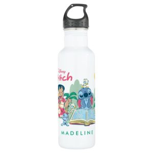 Lilo & Stitch   Reading the Ugly Duckling Water Bottle
