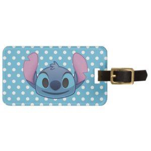 Lilo & Stitch | Stitch Emoji Luggage Tag