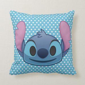 Lilo & Stitch | Stitch Emoji Throw Pillow