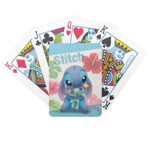 Lilo & Stitch | Stitch with Ugly Doll Bicycle Playing Cards