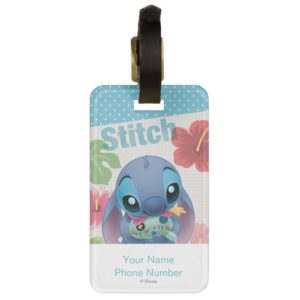 Lilo & Stitch | Stitch with Ugly Doll Luggage Tag