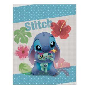 Lilo & Stitch   Stitch with Ugly Doll Poster