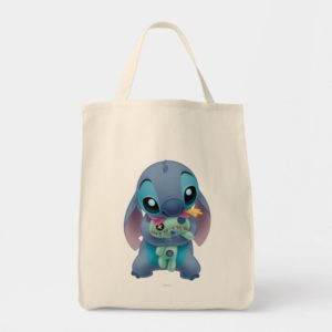 Lilo & Stitch   Stitch with Ugly Doll Tote Bag