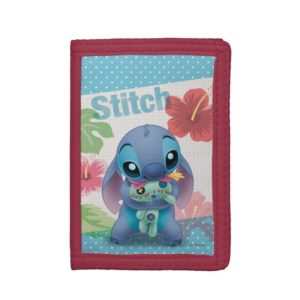 Lilo & Stitch | Stitch with Ugly Doll Tri-fold Wallet