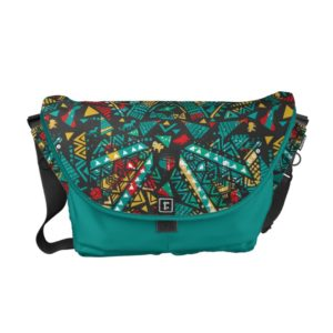 Lion Guard | African Pattern Courier Bag