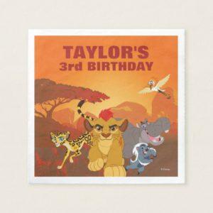 Lion Guard | Birthday Napkin