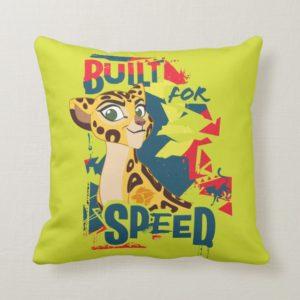Lion Guard | Built For Speed Fuli Throw Pillow