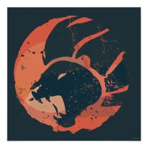 Lion Guard Emblem Poster