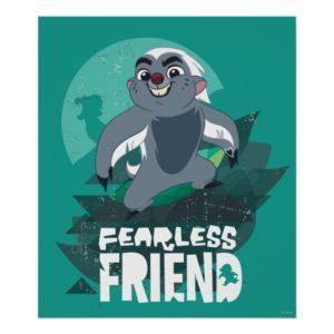 Lion Guard | Fearless Friend Bunga Poster