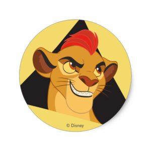 Lion Guard | Kion Character Art Classic Round Sticker
