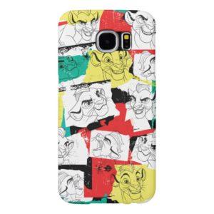 Lion Guard | Kion Expressions Pattern Samsung Galaxy S6 Case