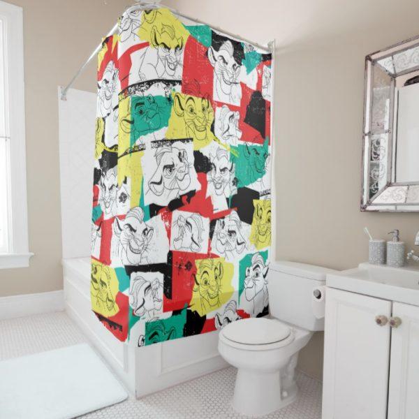 Lion Guard | Kion Expressions Pattern Shower Curtain