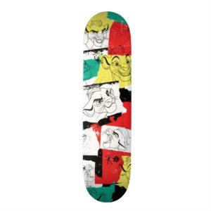 Lion Guard | Kion Expressions Pattern Skateboard Deck