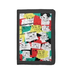 Lion Guard | Kion Expressions Pattern Trifold Wallet