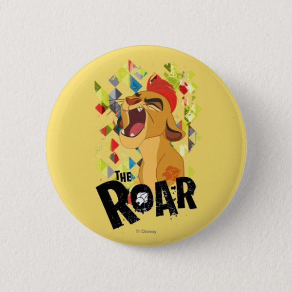 Lion Guard | Kion Roar Pinback Button
