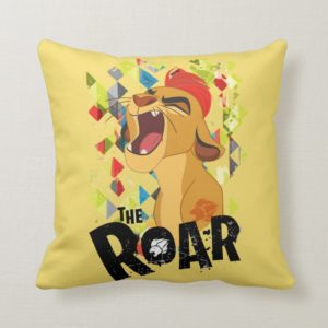 Lion Guard | Kion Roar Throw Pillow