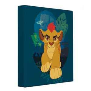 Lion Guard | Kion Safari Graphic 3 Ring Binder
