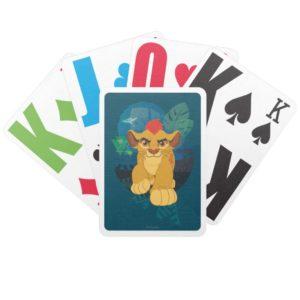 Lion Guard | Kion Safari Graphic Bicycle Playing Cards