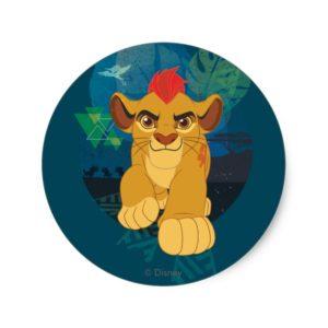 Lion Guard | Kion Safari Graphic Classic Round Sticker