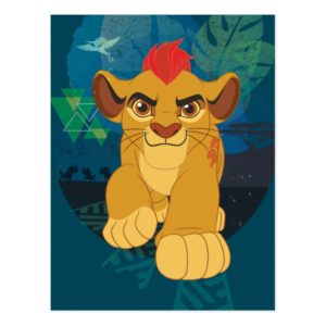 Lion Guard | Kion Safari Graphic Postcard