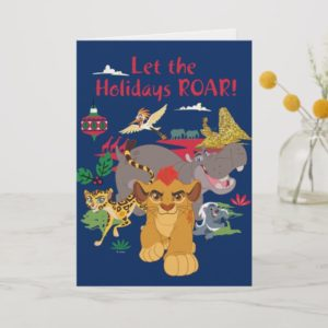 Lion Guard | Let The Holidays Roar Holiday Card
