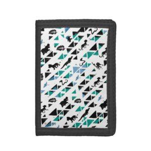 Lion Guard | Mosaic Pattern Trifold Wallet