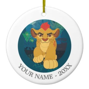 Lion Guard | Simba Add Your Name Ceramic Ornament