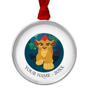 Lion Guard | Simba Add Your Name Metal Ornament