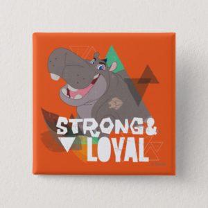 Lion Guard | Strong & Loyal Beshte Button