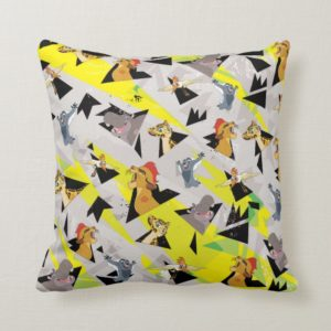 Lion Guard   Triangle Pattern Throw Pillow