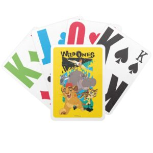 Lion Guard | Wild Ones Bicycle Playing Cards
