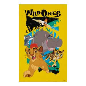 Lion Guard | Wild Ones Poster