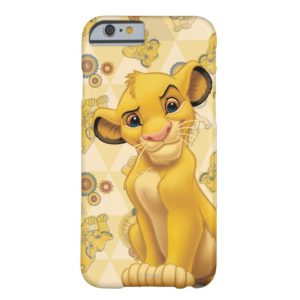 Lion King   Simba on Triangle Pattern Case-Mate iPhone Case