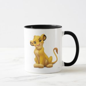Lion King | Simba on Triangle Pattern Mug