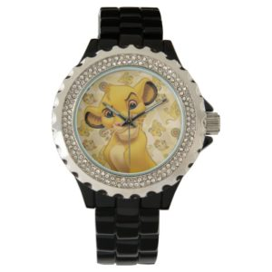 Lion King | Simba on Triangle Pattern Wrist Watch